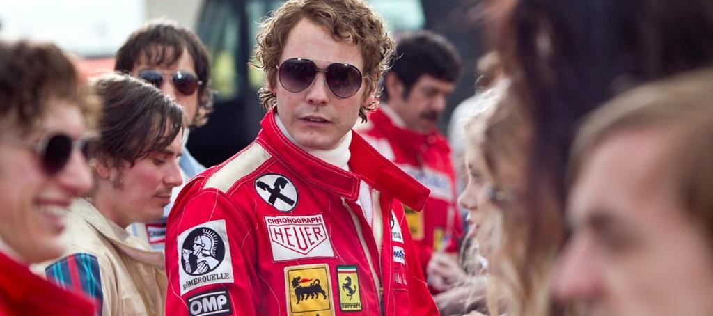 The carrera sunglasses on the set of the film « Rush »